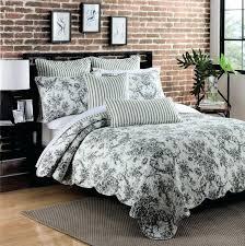 black and white toile duvet cover um size of bedding surprising bedding black and white pillow