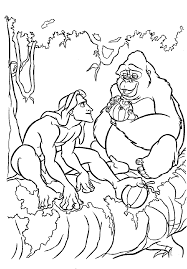 Small Picture tarzan coloring pages things with no place Pinterest