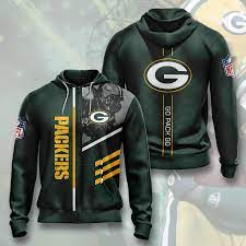 green bay packers zip hoo 2020 3d
