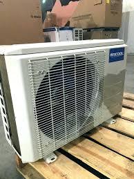 mr cool diy mini split review seer ductless heat pump scratch dent nex