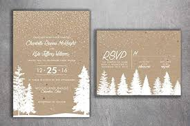 Rustic Winter Wedding Invitations Amazon Com Winter Wedding Invitations Snow Wedding Invitation