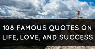 Love And Life Quotes Inspiration 48 Famous Quotes On Life Love And Success