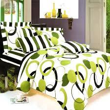 artistic green cotton mega duvet cover set queen size dimensions nz