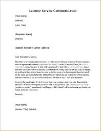 laundry service complaint letter word excel templates laundry service complaint letter