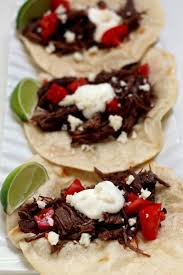 Break out your slow cooker or instant pot, prep in the morning, and come home to tender braised taco meat when you. Instant Pot Shredded Beef Street Tacos 365 Days Of Slow Cooking And Pressure Cooking