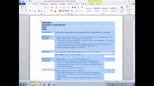 Ms Word 2007 Resume Templates Fresh Microsoft Word 2007 Resume