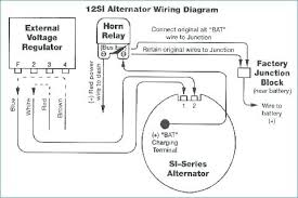 wiring diagram for a single light switch alternator with external typical wiring diagram alternator and external voltage regulator wiring diagram for a single light switch alternator with external regulator boat voltage