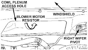 dodge dakota wiring diagram for the air conditioner system removal