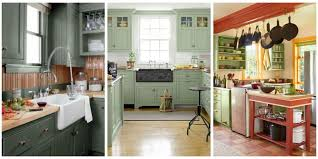 colors green kitchen ideas. With Paint Options Ranging From Mint To Sage, These Green Kitchen Ideas Will Make Any Cooking Colors A