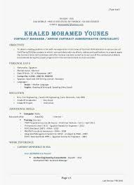 28 Contract Specialist Resume Download Best Resume Templates