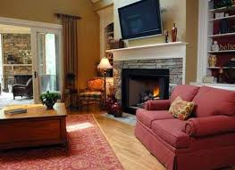 tips to decorate living room with corner fireplace home