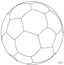 Small Picture Soccer Ball Coloring Page Ppinewsco