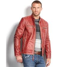 lyst marc new york ryder distressed calf leather moto jacket jpg 2000x2000 mens leather coats macys