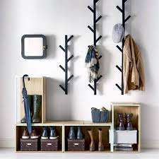 Wooden Coat Rack With Storage Top Design For Oak Coat Rack Ideas Best Ideas About Hallway Coat 30