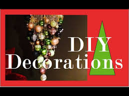 DIY Christmas Ball Chandelier | Christmas Decorations - YouTube