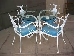 inspiration ideas vintage patio chair antique rod iron patio