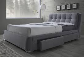 king platform storage bed. Fenbrook Gray King Platform Storage Bed N