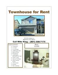 Apartments For Rent Flyer Claimstory
