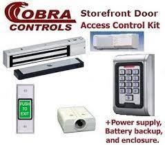 single door magnetic lock kit for