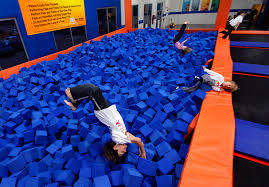 Sky Zone In Memphis Bouncing Off The Walls Memphis Daily News