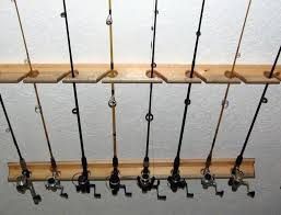 fishing rod storage rack plans woodworking projects plans plan