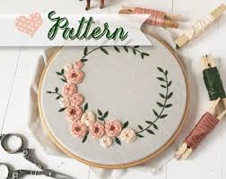 Hand Embroidery Patterns Amazing Merry Bright Digital Handembroidery Pattern