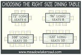 table dimensions for 8 dining table dimensions for 8 seating guidelines for how many people a table dimensions for 8 6 dining