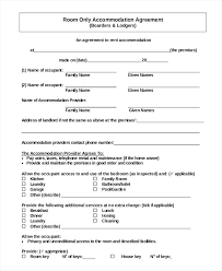 House Rental Agreement Room Lease Free Template Form Ontario Hou