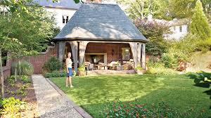 Small Picture Backyard Decorating Ideas English Garden Folly Southern Living