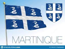 Martinique Official National Flag And ...