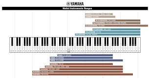 Percussion Bells Notes Chart Whats The Difference Between Vibraphone Glockenspiel And