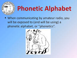 The international radiotelephony spelling alphabet, commonly known as the nato phonetic alphabet or the icao phonetic alphabet, is the most widely used radiotelephone spelling alphabet. Technician License Class Ppt Download