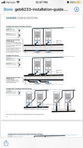 horizontal drain installation for wall