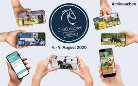 CHIO Aachen Digital vom 4. bis 9. August – holt euch das Aachen-Feeling  nach Hause! -
