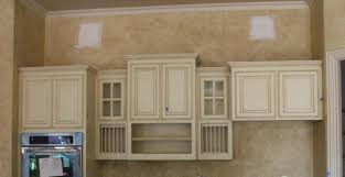 Painting Kitchen Cabinets Grey Beige Glazed Kitchen Cabinets Quicuacom