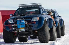 Arctic Trucks modified Toyota HiLux(prob. 2008/2009 model) in the ...