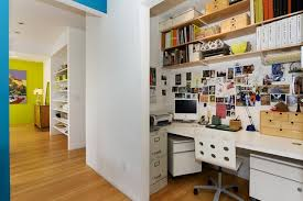 contemporary home office by mercedes corbell design architecture atlanta closet home office