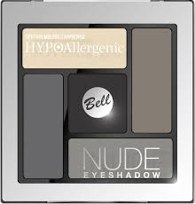 Bell Hypoallergenic <b>Тени для век сатиново-кремовые</b> Nude ...