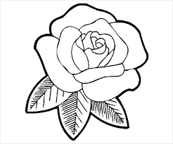 Free, printable coloring pages provide hours of fun for kids! Free 9 Rose Coloring Pages In Ai