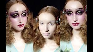 biba makeup tutorial 30s 60s 70s inspired look