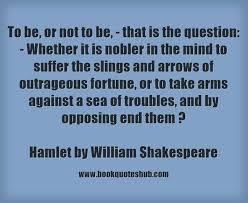 Hamlet Quotes Impressive William Shakespeare Book Quotes Hub