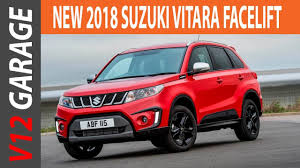 2018 suzuki vitara. exellent 2018 2018 suzuki vitara facelift specs and review to suzuki vitara v