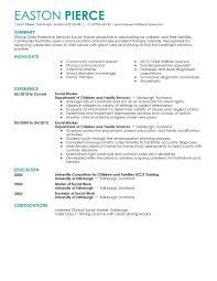 Gallery Of Resume Social Service Worker Social Worker Resume