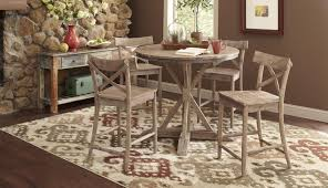 linens progressive willow distressed dining seater height white counter table dimensions set tables round setting ideas