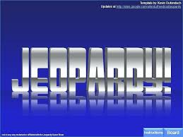 Jeopardy Template Game With Music Free Regard To Sound