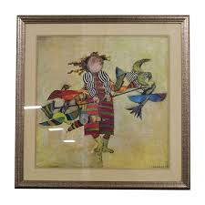 Q. Rodo Boulanger Framed Art used ...