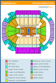 American Airlines Center Dallas Seating Chart