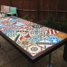How To Tile A Table Home Design Ideas And Pictures