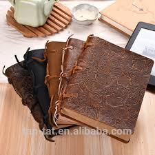 genuine thick leather journal notebook book cover