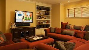 arrange furniture around fireplace tvnterior design small living room layout with sectional rooms bay windows setup